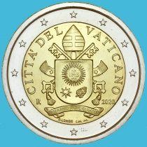 Ватикан 2 евро 2020 год.