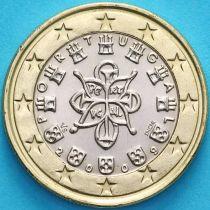 Португалия 1 евро 2009 год.