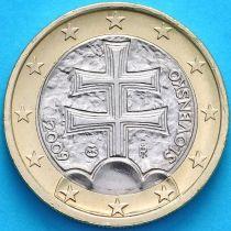 Словакия 1 евро 2009 год.