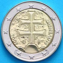 Словакия 2 евро 2009 год.