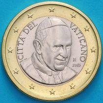 Ватикан 1 евро 2015 год.