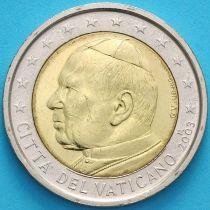 Ватикан 2 евро 2003 год.