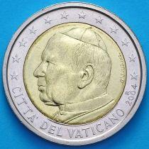 Ватикан 2 евро 2004 год.