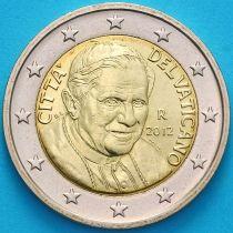 Ватикан 2 евро 2012 год.