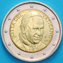 Ватикан 2 евро 2015 год.
