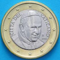 Ватикан 1 евро 2016 год.