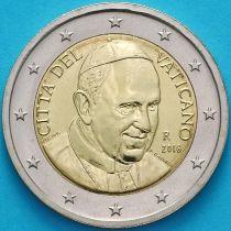 Ватикан 2 евро 2016 год.