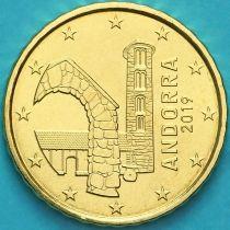 Андорра 10 евроцентов 2019 год.