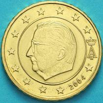 Бельгия 10 евроцентов 2004 год. (тип 1)
