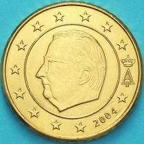 Бельгия 50 евроцентов 2004 год. (тип1)