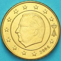 Бельгия 50 евроцентов 2004 год. (тип1) Брак