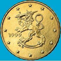 Финляндия 10 евроцентов 1999 год. М