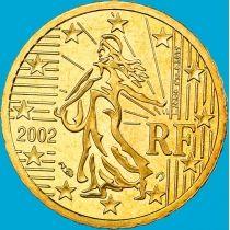 Франция 10 евроцентов 2002 год.