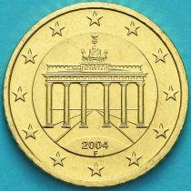 Германия 10 евроцентов 2004 год. F