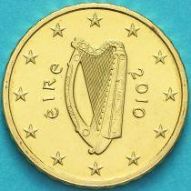 Ирландия 10 евроцентов 2010 год.