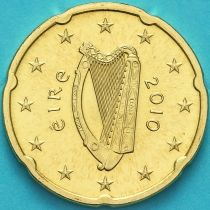 Ирландия 20 евроцентов 2010 год.