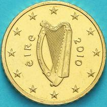 Ирландия 50 евроцентов 2010 год.