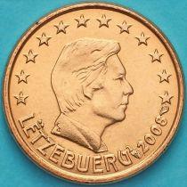 Люксембург 1 евроцент 2008 год. F.