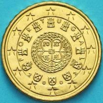 Португалия 10 евроцентов 2002 год.