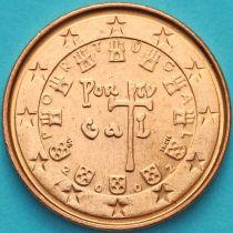 Португалия 1 евроцент 2002 год.