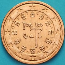 Португалия 2 евроцента 2002 год.