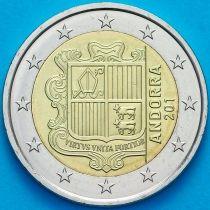 Андорра 2 евро 2018 год.