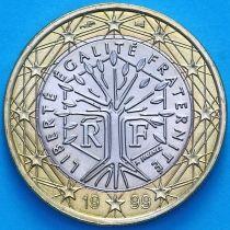 Франция 1 евро 1999 год.