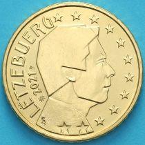 Люксембург 50 евроцентов 2021 год. Лев.