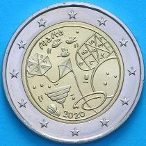 Мальта 2 евро 2020 год. Игры.