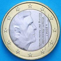 Нидерланды 1 евро 2014 год.