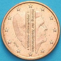 Нидерланды 2 евроцента 2014 год. (тип 2)