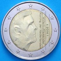 Нидерланды 2 евро 2014 год.