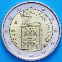 Сан Марино 2 евро 2005 год.