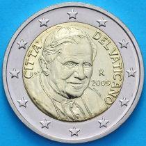 Ватикан 2 евро 2009 год.