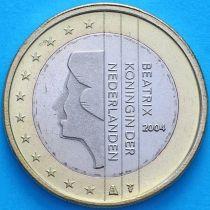 Нидерланды 1 евро 2004 год.