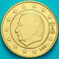 Бельгия 50 евроцентов 2002 год. (тип1)