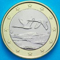 Финляндия 1 евро 2012 год.  Fi, Лев На монете есть дата 2012