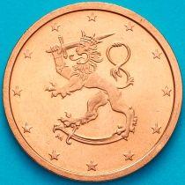 Финляндия 1 евроцент 2005 год. М.На монете есть дата 2005