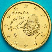 Испания 50 евроцентов 2016 год.  На монете есть дата 2016