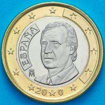 Испания 1 евро 2002 год.  Хуан Карлос I