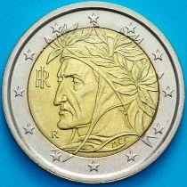 Италия 2 евро 2010 год.  На монете есть дата 2010