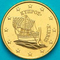 Кипр 50 евроцентов 2016 год.  На монете есть дата 2016