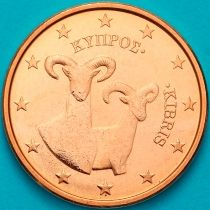 Кипр 5 евроцентов 2016 год.