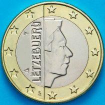 Люксембург 1 евро 2012 год. На монете есть дата 2012