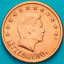 Люксембург 1 евроцент 2003 год. На монете есть дата 2003
