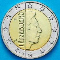 Люксембург 2 евро 2003 год. На монете есть дата 2003