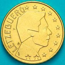 Люксембург 10 евроцентов 2003 год.  На монете есть дата 2003