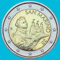 Сан Марино 2 евро 2021 год.