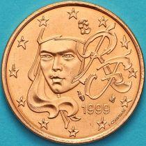 Франция 5 евроцентов 1999 год.