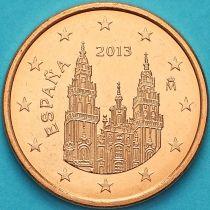Испания 5 евроцентов 2013 год. Тип 2